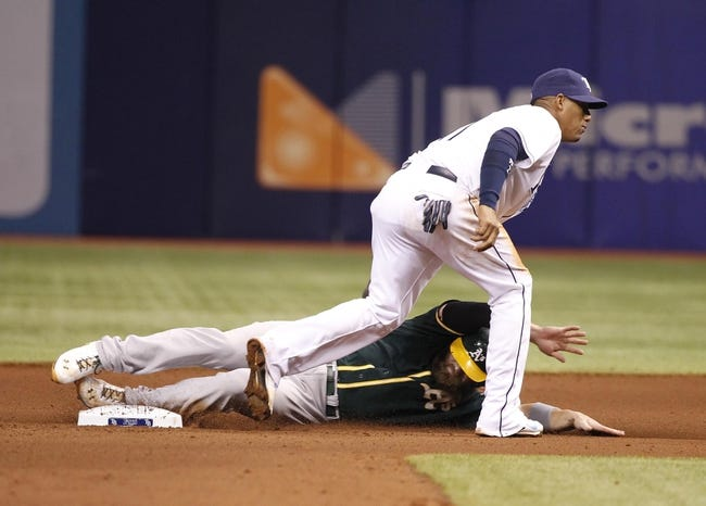 Tampa Bay Rays vs. Oakland Athletics MLB Pick, Odds, Prediction 5/21/14