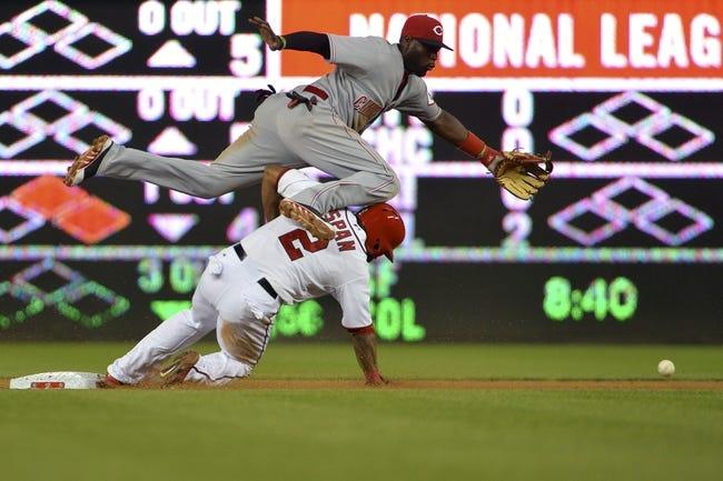 Washington Nationals vs. Cincinnati Reds MLB Pick, Odds, Prediction - 5/21/14