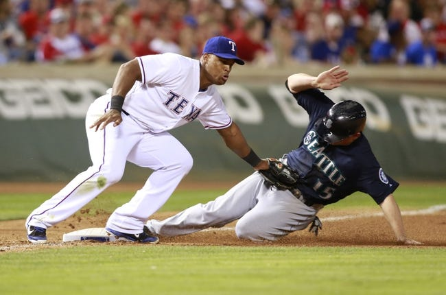 Texas Rangers vs. Seattle Mariners MLB Pick, Odds, Prediction 5/21/14