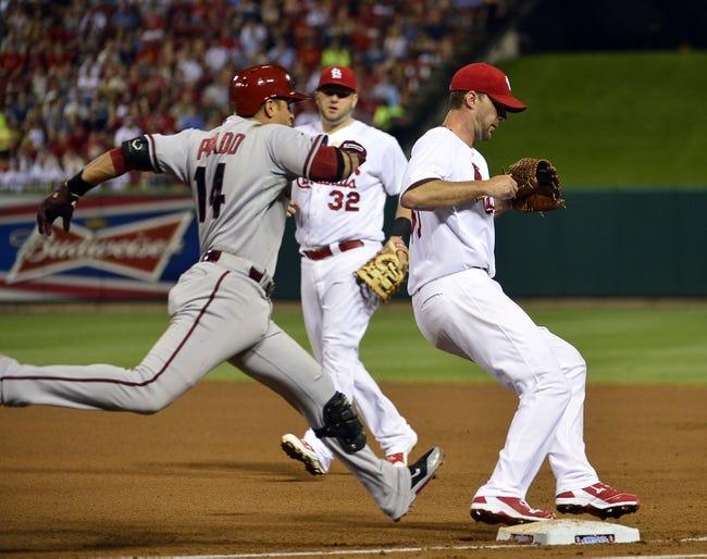 Arizona Diamondbacks vs. St. Louis Cardinals MLB Pick, Odds, Prediction - 9/26/14