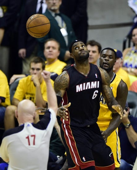 Miami Heat vs. Indiana Pacers - 5/24/14 Game 3 ECF