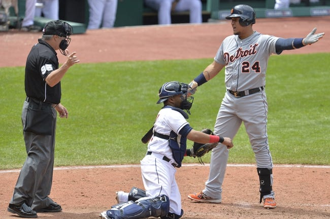 Cleveland Indians vs. Detroit Tigers Pick-Odds-Prediction - 6/22/14