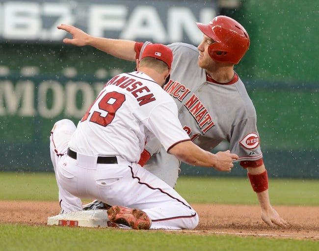 Cincinnati Reds vs. Washington Nationals MLB Pick, Odds, Prediction 7/26/14