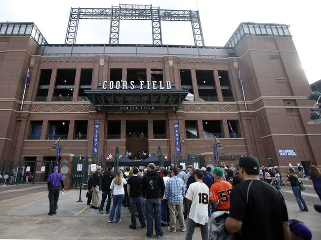 Colorado Rockies vs. San Francisco Giants MLB Pick, Odds, Prediction 5/22/14