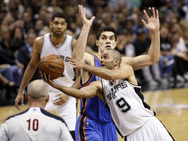 Oklahoma City Thunder vs. San Antonio Spurs - 5/25/14 Game 3