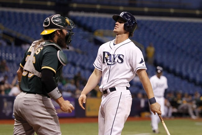 Tampa Bay Rays vs. Oakland Athletics MLB Pick, Odds, Prediction - 5/22/14