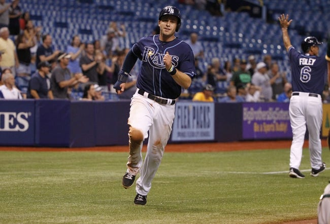 Oakland Athletics vs. Tampa Bay Rays MLB Pick, Odds, Prediction - 8/4/14