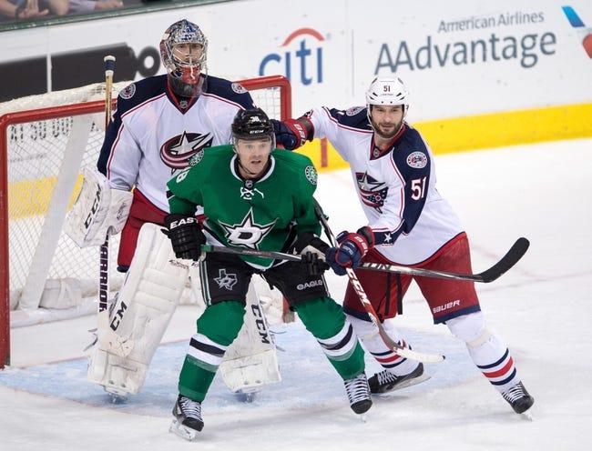 Columbus Blue Jackets vs. Dallas Stars - 10/14/14 NHL Pick, Odds, Prediction