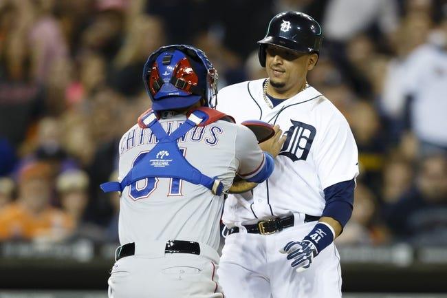 Detroit Tigers vs. Texas Rangers MLB Pick, Odds, Prediction - 5/24/14