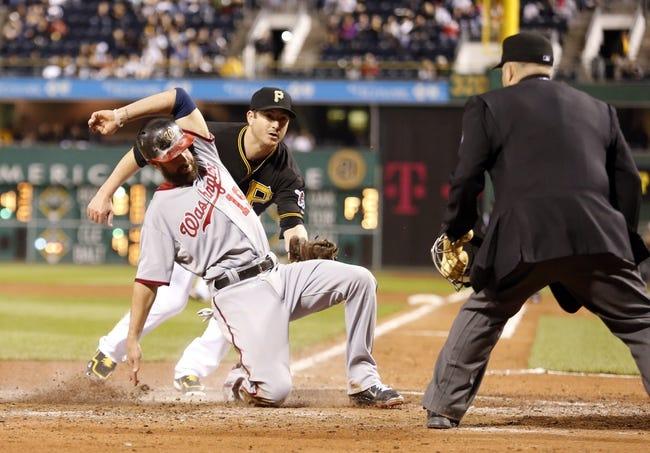 Pittsburgh Pirates vs. Washington Nationals MLB Pick, Odds, Prediction 5/24/14