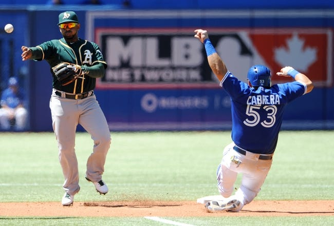 Toronto Blue Jays vs. Oakland Athletics MLB Pick, Odds, Prediction - 5/25/14