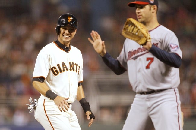 San Francisco Giants vs. Minnesota Twins MLB Pick, Odds, Prediction - 5/25/14
