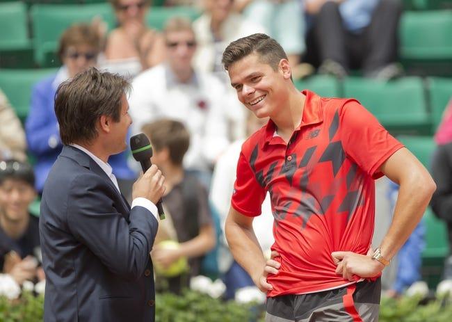 Milos Raonic vs. Adrian Mannarino 2016 French Open Pick, Odds, Prediction