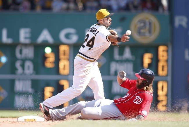 Washington Nationals vs. Pittsburgh Pirates MLB Pick, Odds, Prediction - 8/15/14
