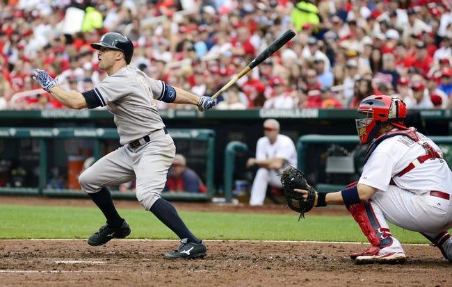 St. Louis Cardinals vs. New York Yankees MLB Pick, Odds, Prediction - 5/27/14