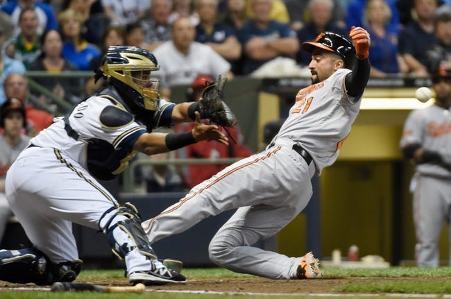 Milwaukee Brewers vs. Baltimore Orioles MLB Pick, Odds, Prediction 5/28/14