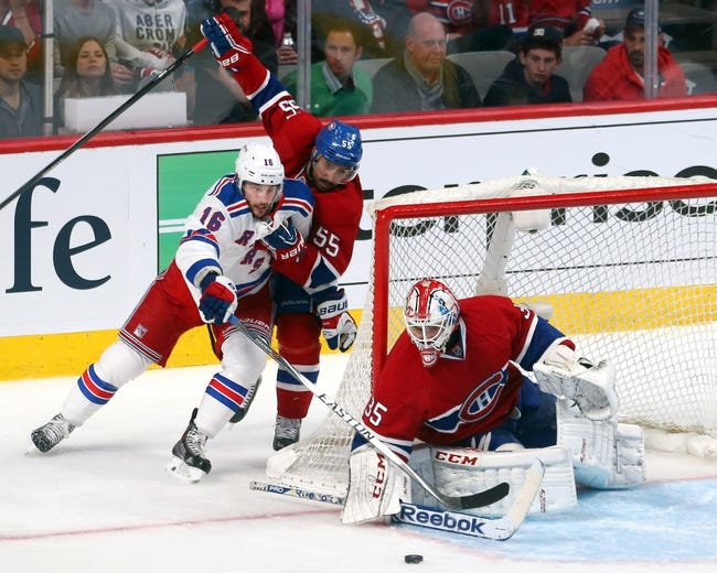NHL | Montreal Canadiens (46-28-8) at New York Rangers (45-31-6)
