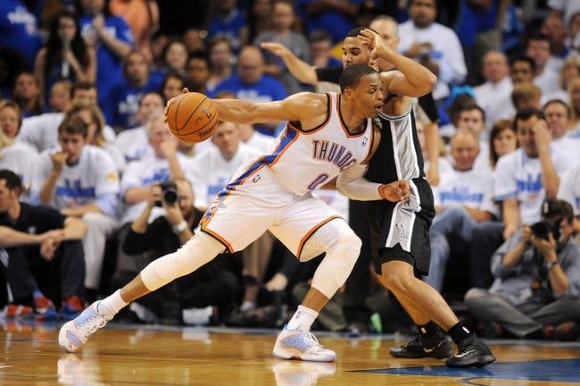 Oklahoma City Thunder vs. San Antonio Spurs - 5/29/14