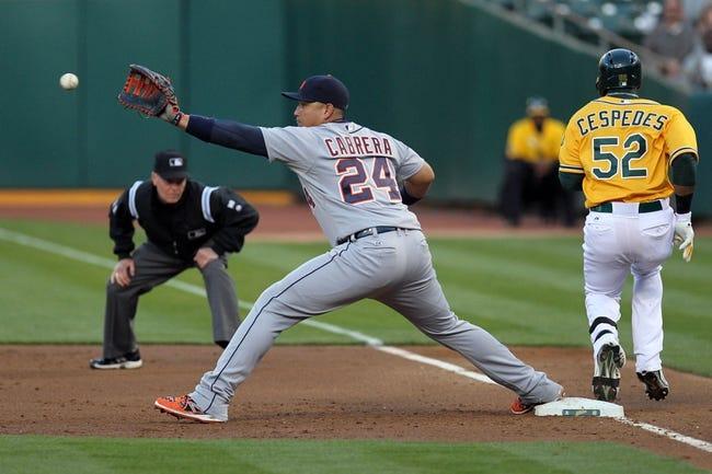 Oakland Athletics vs. Detroit Tigers MLB Pick, Odds, Prediction - 5/28/14