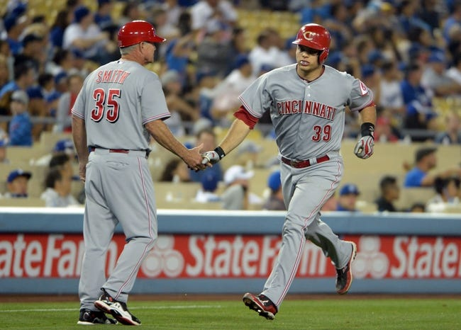 Los Angeles Dodgers vs. Cincinnati Reds Pick-Odds-Prediction - 5/28/14
