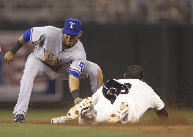 Minnesota Twins vs. Texas Rangers MLB Pick, Odds, Predction 5/29/14