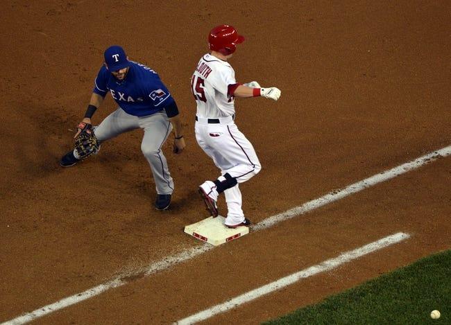 Washington Nationals vs. Texas Rangers MLB Pick, Odds, Prediction - 5/31/14