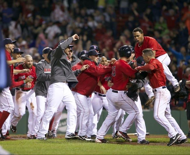 Boston Red Sox vs. Tampa Bay Rays MLB Pick, Odds, Prediction 5/31/14