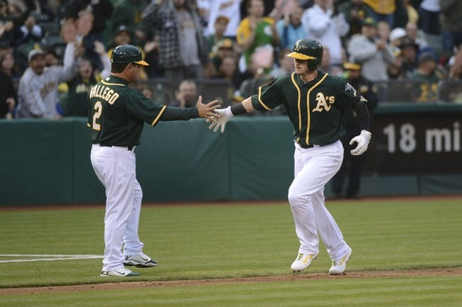 Oakland Athletics vs. Los Angeles Angels Pick-Odds-Prediction - 5/31/14