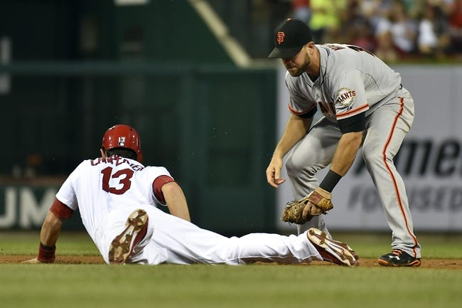 St. Louis Cardinals vs. San Francisco Giants MLB Pick, Odds, Prediction 5/31/14