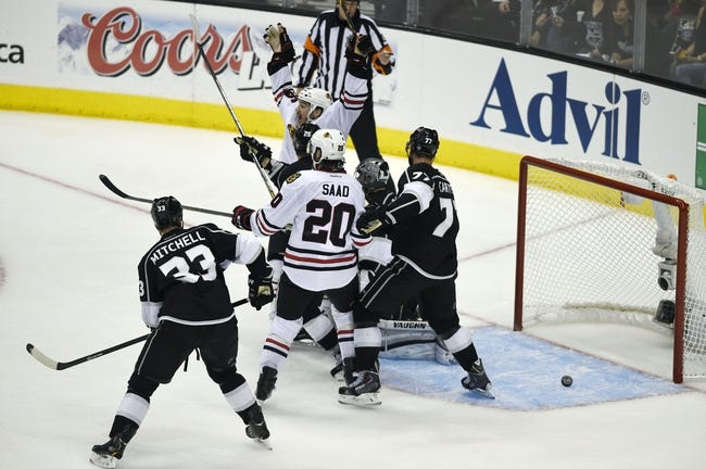 Chicago Blackhawks vs. Los Angeles Kings NHL Pick, Odds, Prediction - 6/1/14 Game Seven