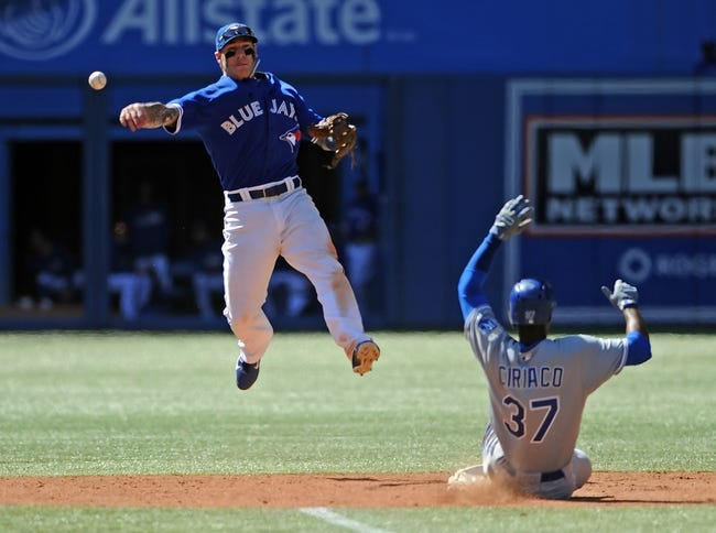 Toronto Blue Jays vs. Kansas City Royals MLB Pick, Odds, Prediction 6/1/14