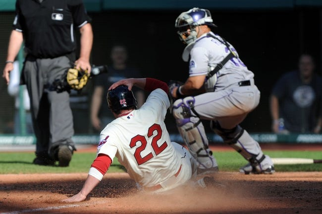 Cleveland Indians vs. Colorado Rockies Pick-Odds-Prediction - 6/1/14