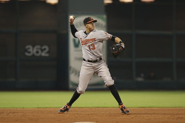 Orioles vs. Astros - 5/25/15 MLB Pick, Odds, and Prediction