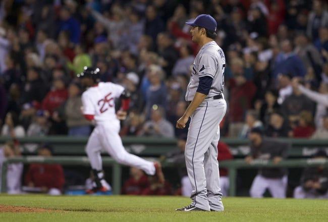 Boston Red Sox vs. Tampa Bay Rays MLB Pick, Odds, Prediction - 6/1/14
