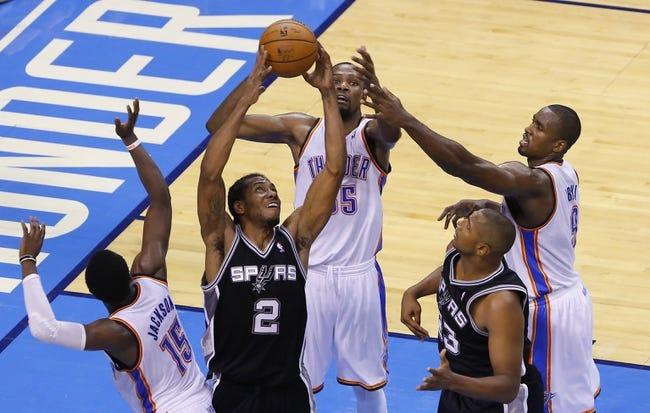 Spurs vs. Thunder - 12/25/14 NBA Pick, Odds, and Prediction