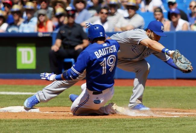 Royals vs. Blue Jays - 7/10/15 MLB Pick, Odds, and Prediction