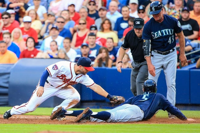 Atlanta Braves vs. Seattle Mariners MLB Pick, Odds, Prediction 6/4/14