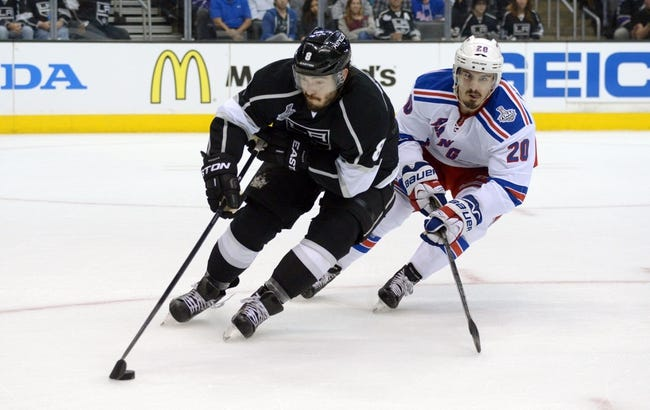 Los Angeles Kings vs. New York Rangers - 6/7/14