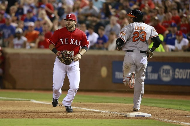 Texas Rangers vs. Baltimore Orioles MLB Pick, Odds, Prediction 6/5/14