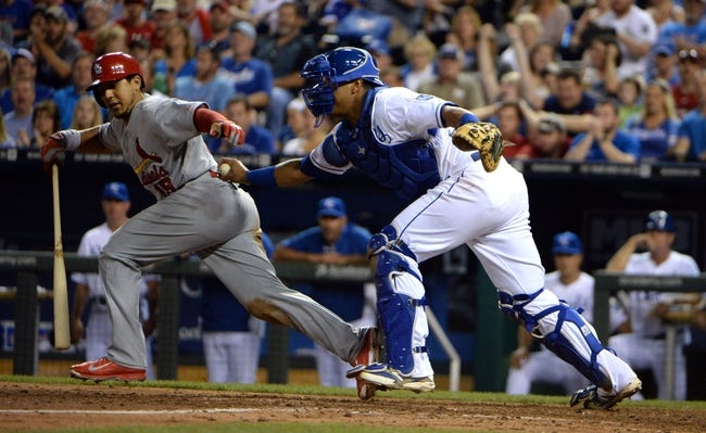 Kansas City Royals vs. St. Louis Cardinals - 5/22/15 MLB Pick, Odds, and Prediction