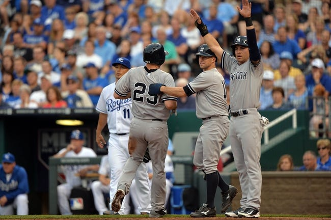 Kansas City Royals vs. New York Yankees MLB Pick, Odds, Prediction 6/7/14