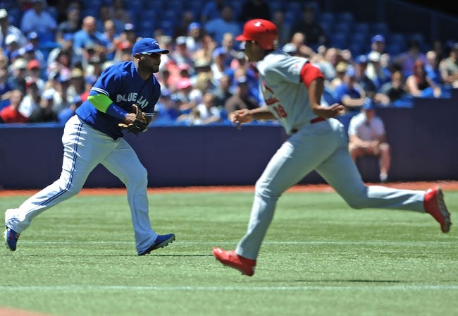 Toronto Blue Jays vs. St. Louis Cardinals MLB Pick, Odds, Prediction - 6/8/14