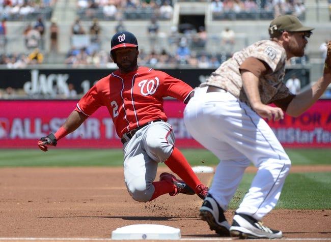 San Diego Padres vs. Washington Nationals - 5/14/15 MLB Pick, Odds, and Prediction