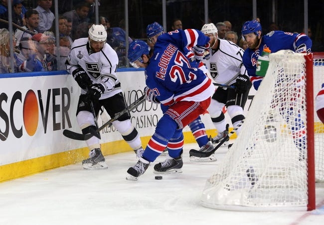 New York Rangers vs. Los Angeles Kings - 6/11/14