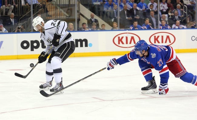 Los Angeles Kings at New York Rangers Stanley Cup Final Prediction, Odds, Pick - 6/11/14 Game Four