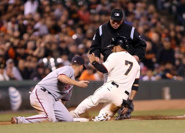San Francisco Giants vs. Washington Nationals MLB Pick, Odds, Prediction - 6/10/14