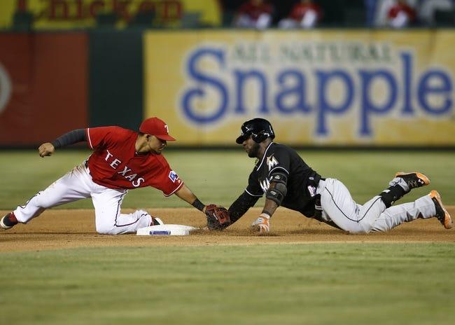 Miami Marlins vs. Texas Rangers MLB Pick, Odds, Prediction - 8/19/14