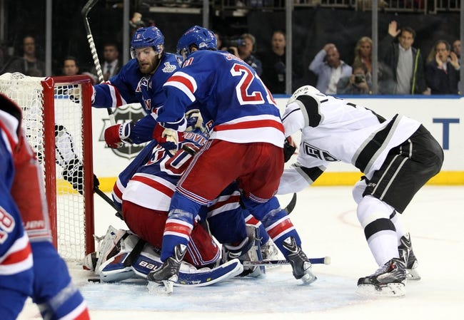 Los Angeles Kings vs. New York Rangers - 6/13/14