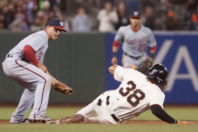 San Francisco Giants vs. Washington Nationals Pick-Odds-Prediction - 6/12/14