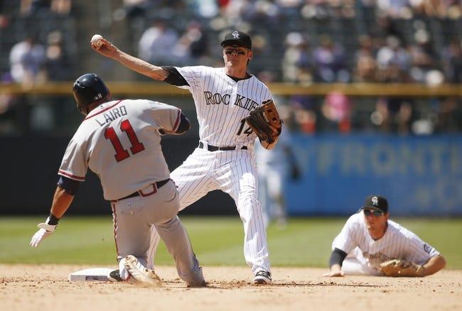 Colorado Rockies vs. Atlanta Braves - 7/9/15 MLB Pick, Odds, and Prediction